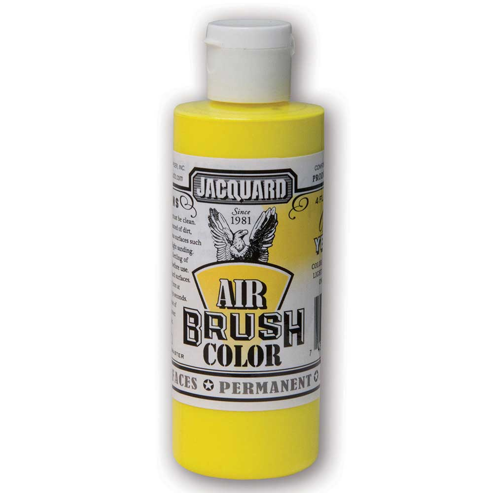 Jacquard Airbrush 118ml Fluorescent Yellow 400