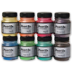 Jacquard Pearl Ex Powdered Pigment Set (8x14 gr)