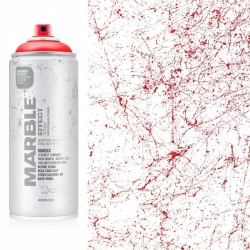 Montana Effect Marble Sprey Boya 400ml Red EM 3000