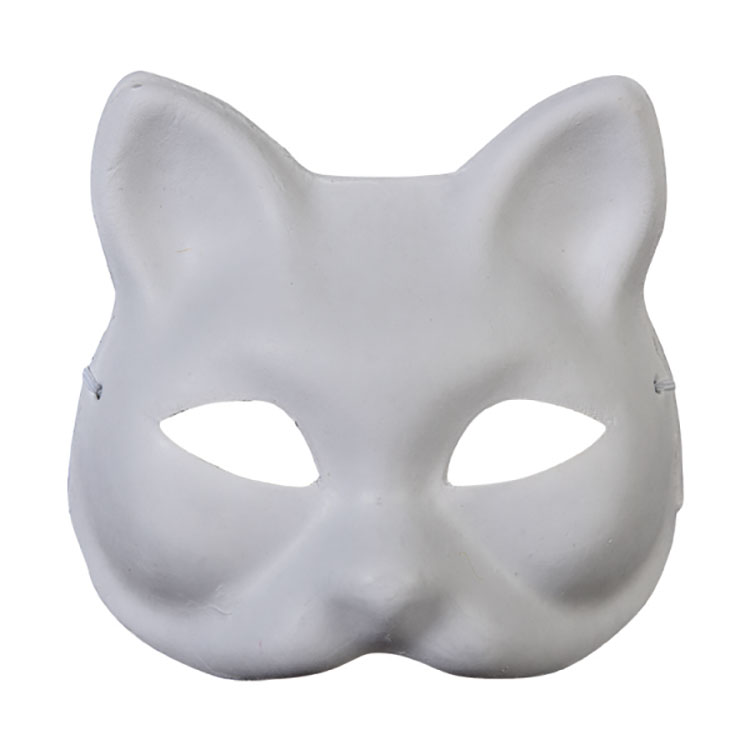 Sudor Maske Karton Kedi
