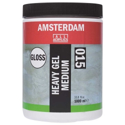 Amsterdam Heavy Gel Medium Glossy 015 250ml (Parlak Doku Jeli)