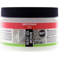Amsterdam Heavy Gel Medium Matt 020 250ml (Mat Doku Jeli)