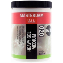 Amsterdam Heavy Gel Medium Matt 020 1lt (Mat Doku Jeli)