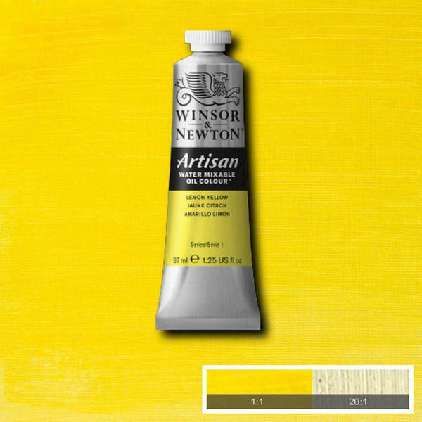 Winsor & Newton Artisan Yağlı Boya 37ml Lemon Yellow Hue 346 S.1