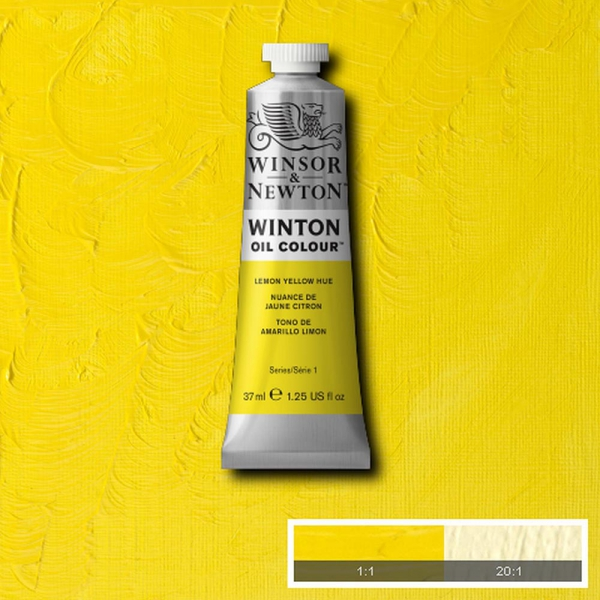 Winsor & Newton Winton Yağlı Boya 37ml Lemon Yellow Hue 346
